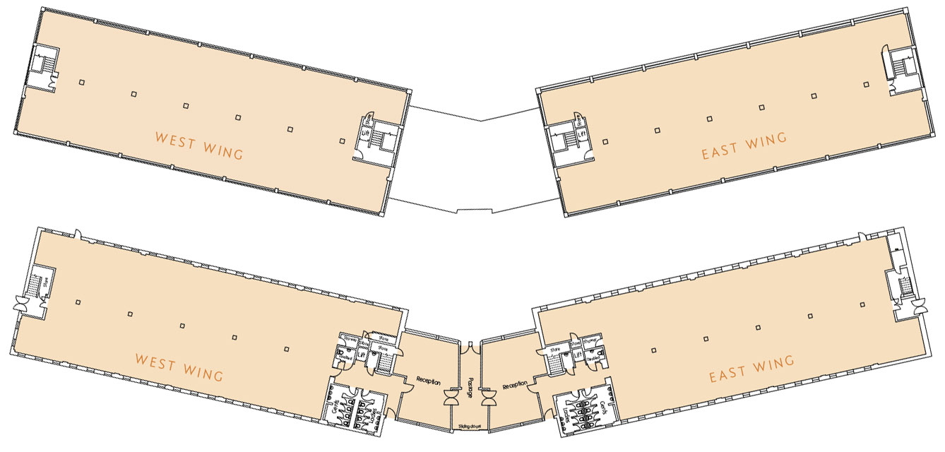 Beluga House floor plan